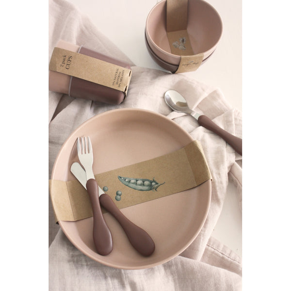 2 Pack Plate - Shara/Moroccan Rose