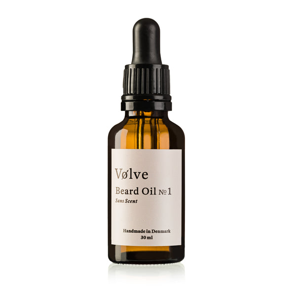 Beard Oil No.1 (Sans Scent)