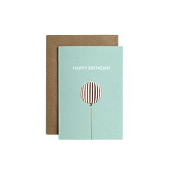 """Birthday balloon"" A7 kort  Grand Stories Design"