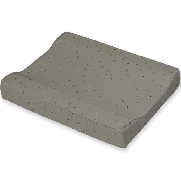 Changing cushion - Grey tree dots  think organic