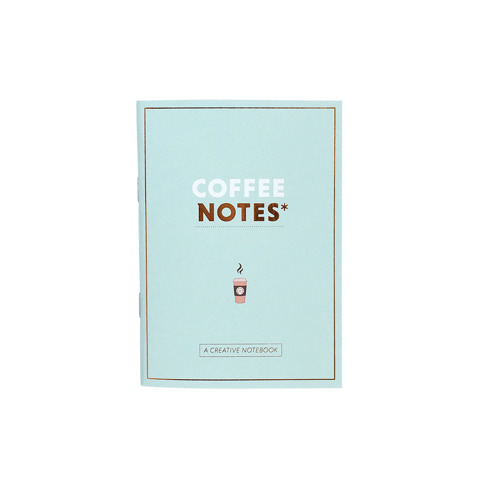 Notesbog - coffee notes