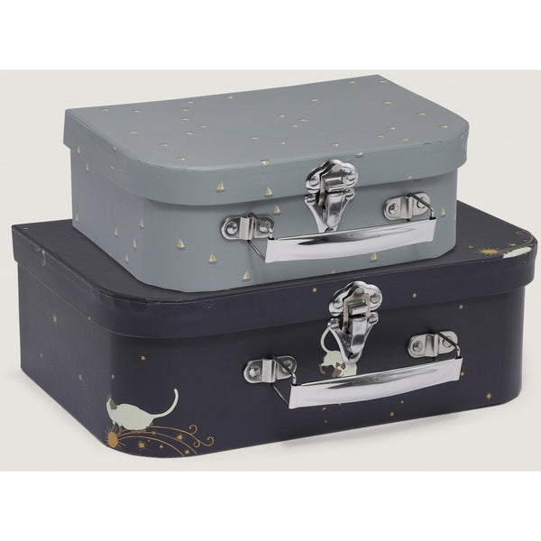 2 Pack Luggage - Siamois/Mille Marin