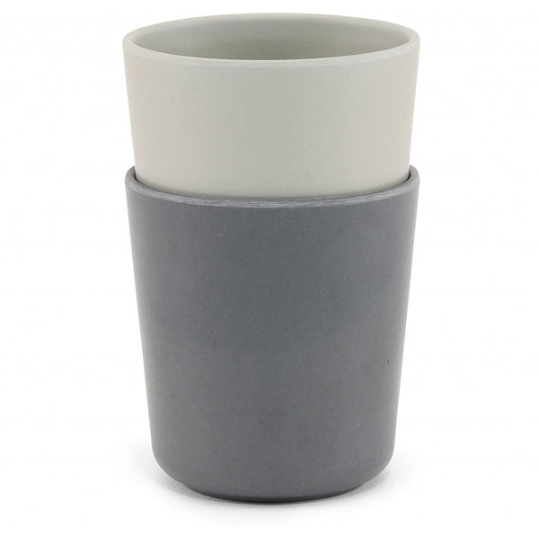 2 pack cup - French grey/midnight