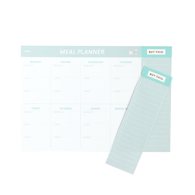 """Meal planner"" madplan  Grand Stories Design"