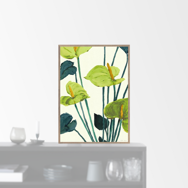 """Anthurium green"" plakat (A3)"