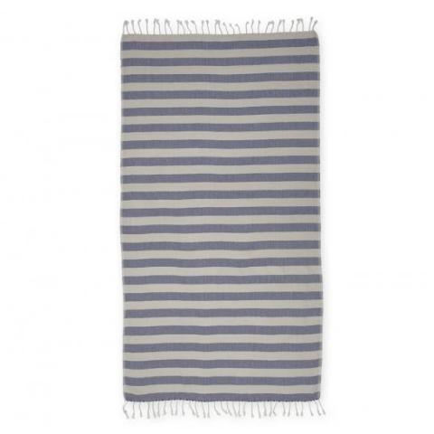 """Bonbon"" towel - marine blå  Time2bath"