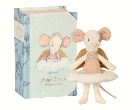 Big sister angel mouse - lille mus i æske