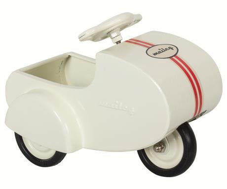 White scooter for mini - metal