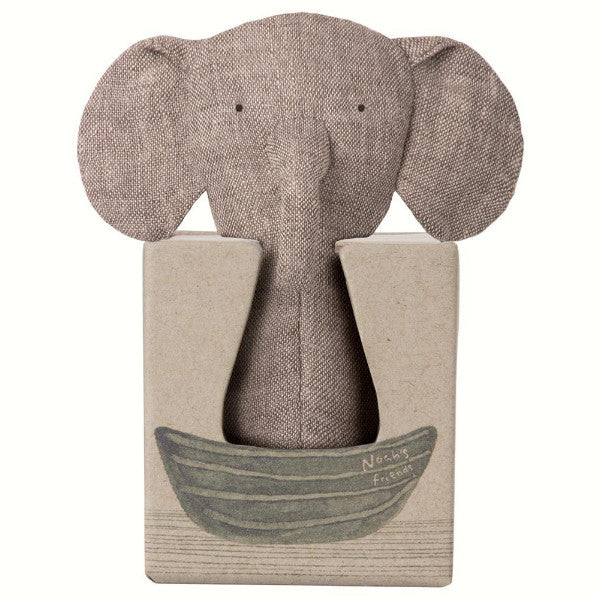 Noah's friends - elefant, mini rangle