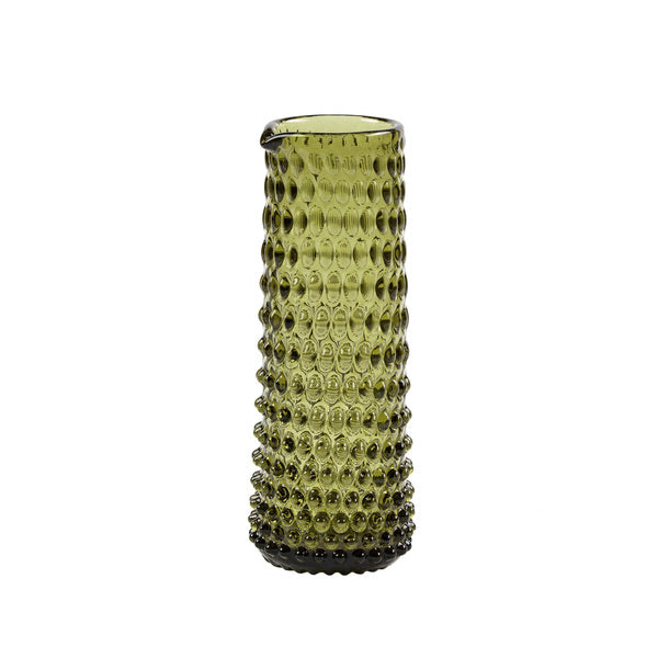 """Danish Summer"" karaffel/vase - Olive Green"