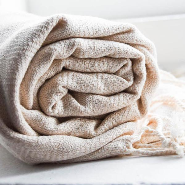 """Marrakech"" towel - natur  Time2bath"