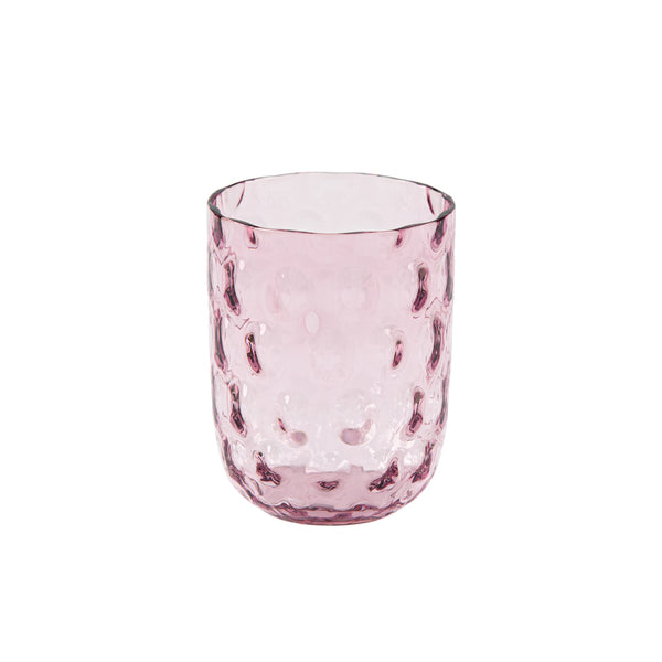 """Danish summer"" tumbler - Purple / big drops"