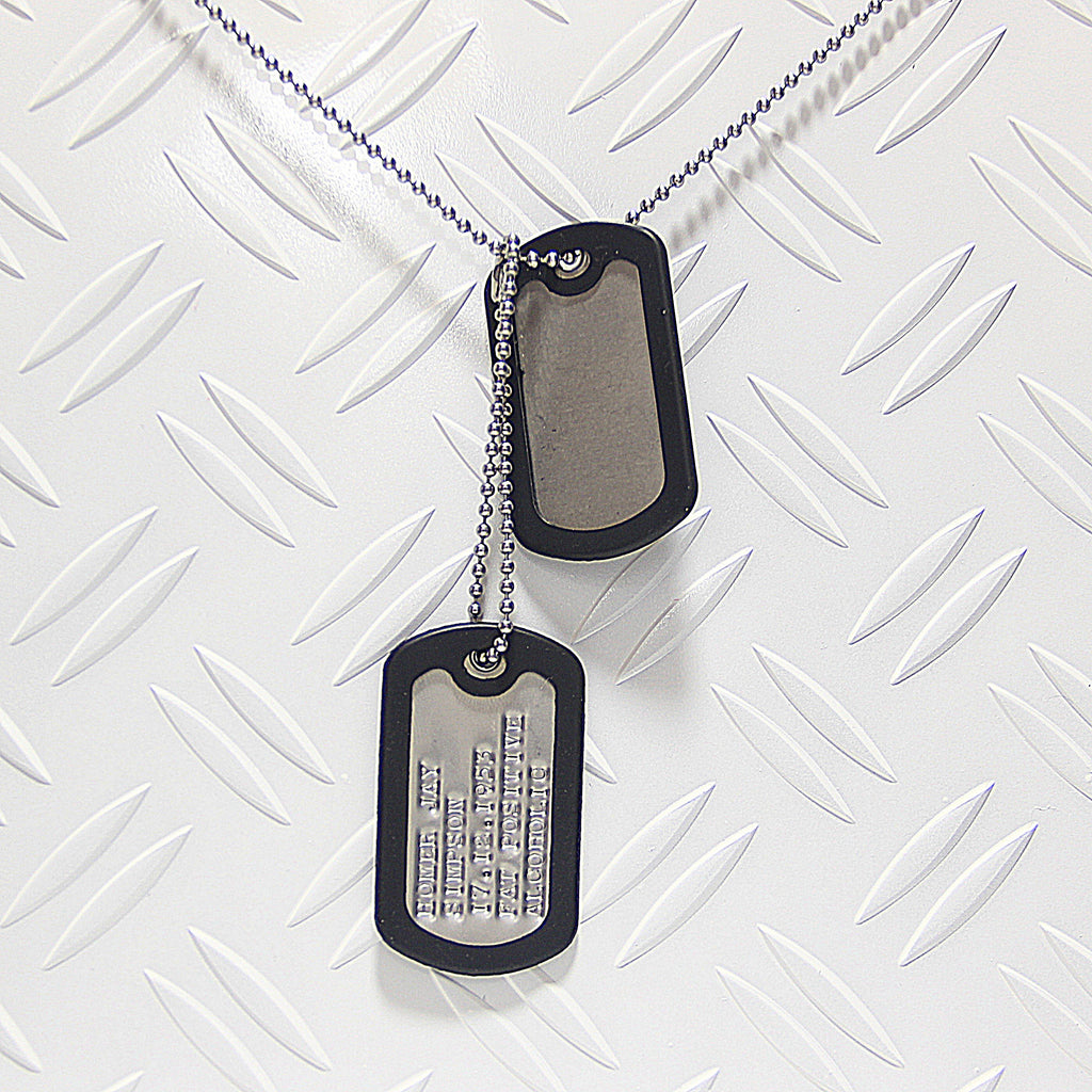 Original US Dog Tags ,,Milspec''