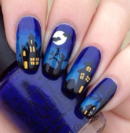 30+ Nail Art Designs For Halloween