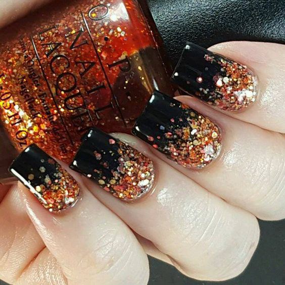 99+ Trending Black Nails Art Manicure Ideas