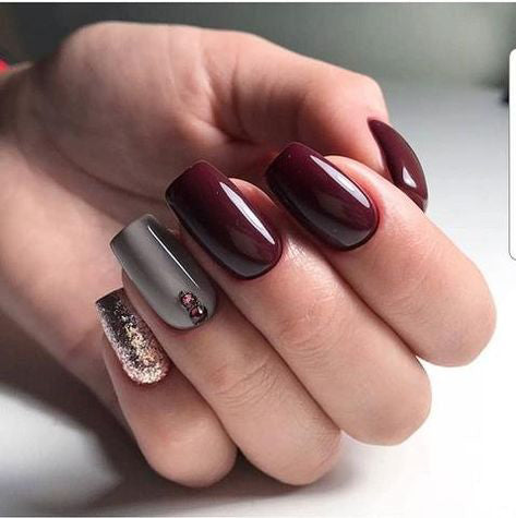 55 trendy manicure ideas in fall nail colors — ostty