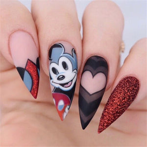 25+ Disney Cutest  Stiletto Nails Design Inspiration