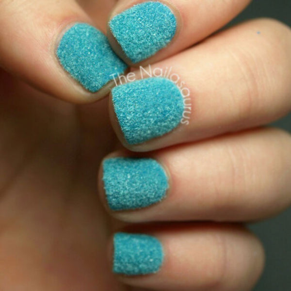 Fabulous Flocking Powder Manicure