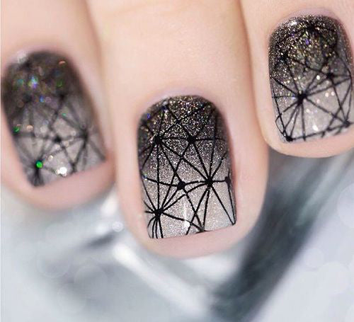 Manicure Geometric Nail Art Ideas