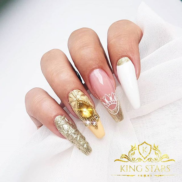 40+ prom night long nail elegant art design