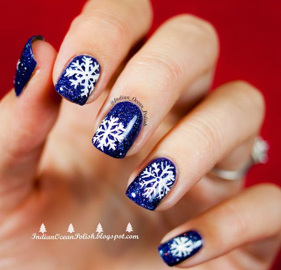 55+ Popular Ideas Of Christmas Nails Designs To Try In