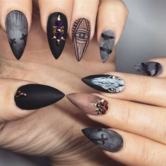 60+ Halloween Nail Art Ideas – OSTTY