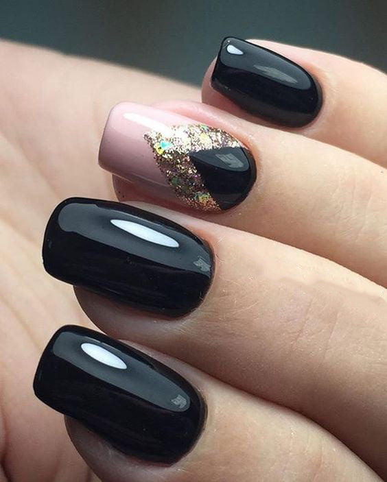 99 Trending Black Nails Art Manicure Ideas Ostty