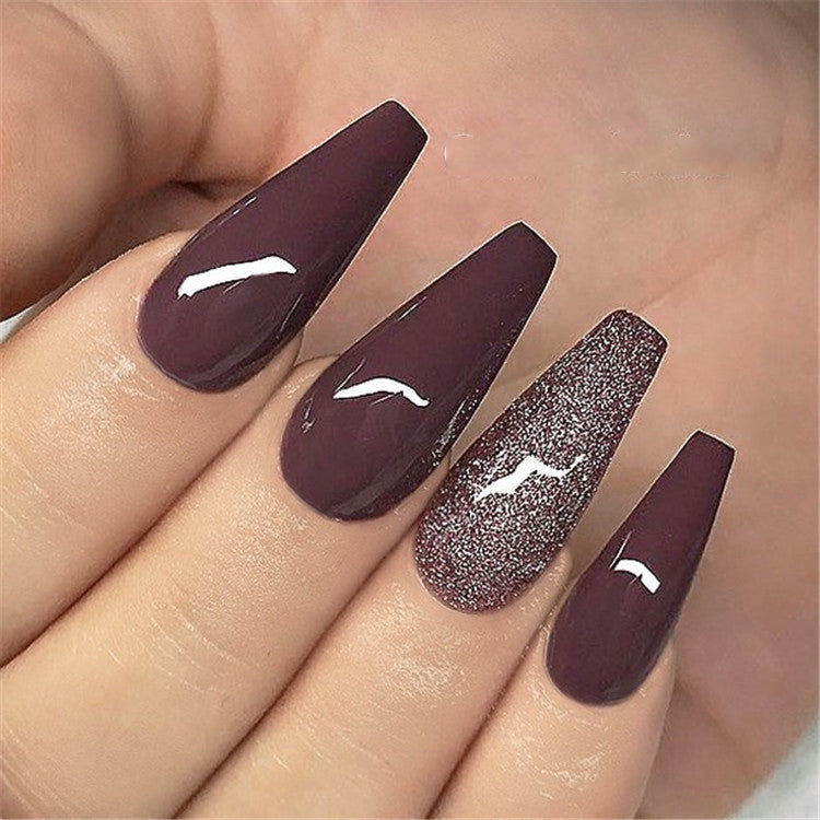 Ombre Design For Coffin Nails — OSTTY