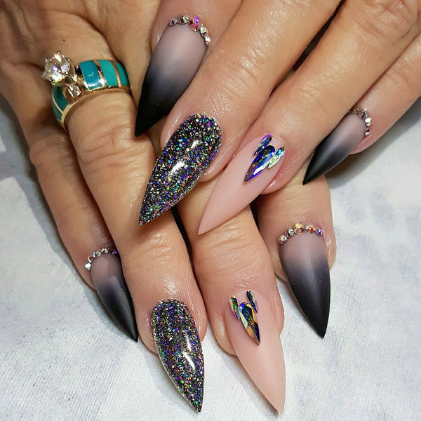 30+ Stiletto Acrylic Nails Ideas To Try In 2019 Sumcoco