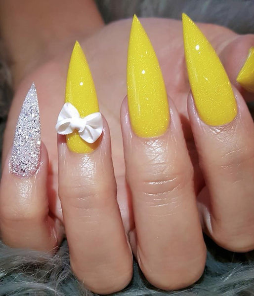 30 cool and trendy stiletto nail art designs; Stiletto Nail Designs; Bling Stiletto Nail; Ombre Stiletto Nail; Simple Stiletto Nail; Acrylic Coffin Stiletto Nail.