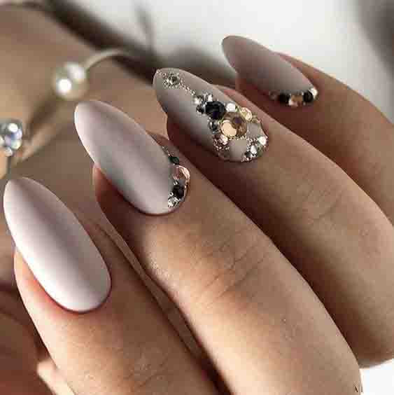 36+ Graduation Nails Designs for 2019; nude nails; Graduation nails;mani; unique nails; simple nails;