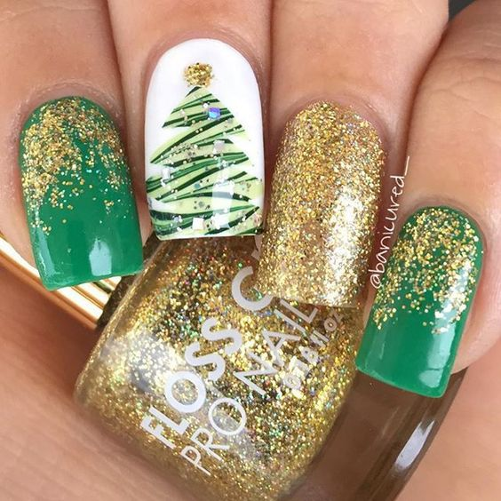 Nail Designs For Christmas 2019.55 Popular Ideas Of Christmas Nails Designs To Try In 2019