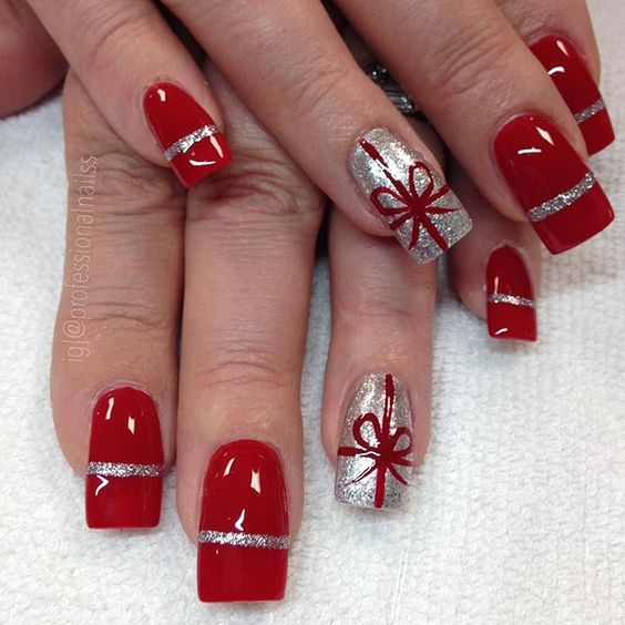 55 Popular Ideas Of Christmas Nails Designs To Try In 2020