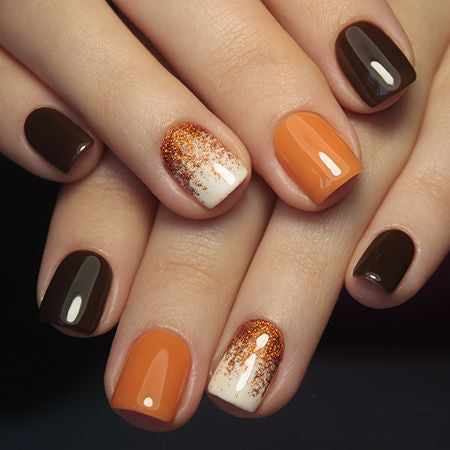 55 trendy manicure ideas in fall nail colors