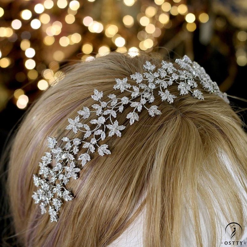 Luxury Bridal Crown Bridal Wreath Wedding Headwear Accessories