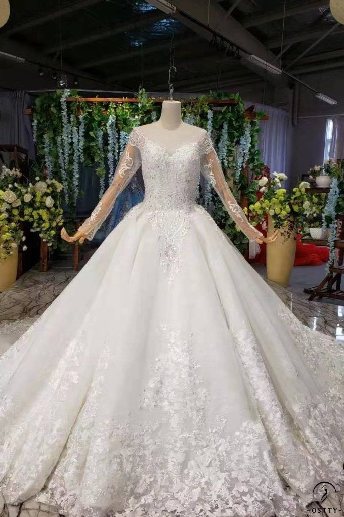 Ostty White Wedding Gowns OS99214 - OSTTY