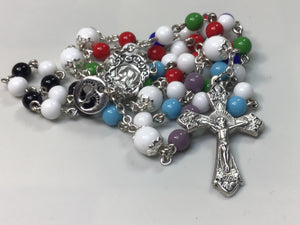 6mm Czech Glass Rosary