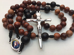 8mm Wood Rosary