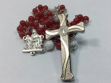 Red Quartz Semi Precious Stone Rosary