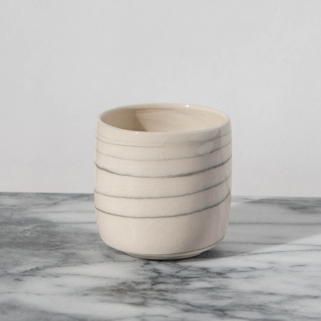 Agate White Tea Cup