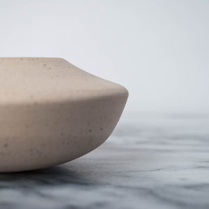 Speckled Porcelain Angled Bowl