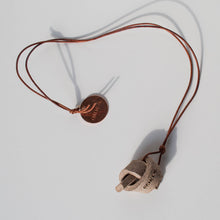 Mini Union Knot Necklace - Sand
