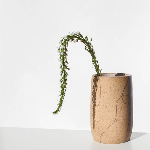 Loopy Speckle Vase