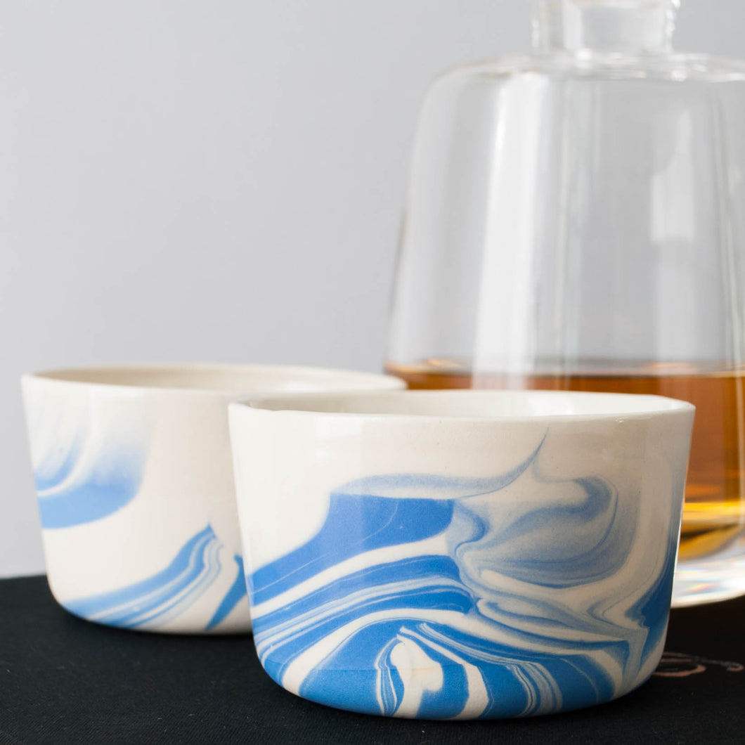 Whiskey Cup Swirl - Set of Two