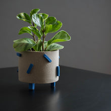 Electric Blue Dash Pot