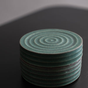 Medium Ribbed Ring Jar