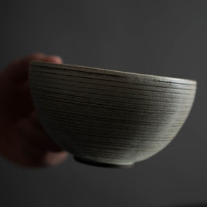 Lined Handled Tea Bowl