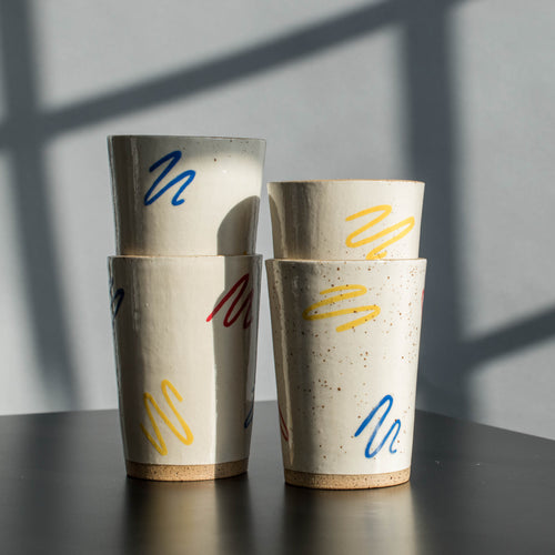 Primary Cups - Scribble