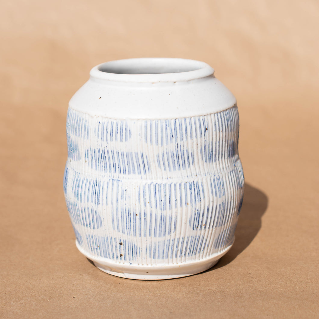 Blue and White Jar