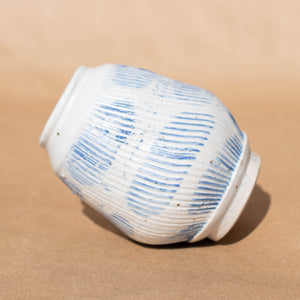 Blue and White Small Jar